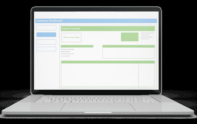 Customized Estimate Templates