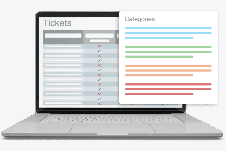 IT Help Desk Solution - Ticket Categories