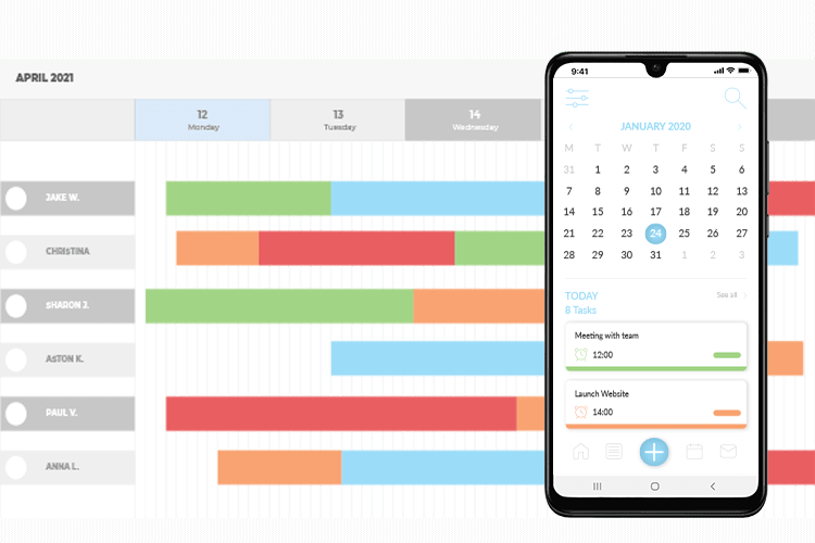 Field Service Scheduling Software - track and schedule your team with our range of planners