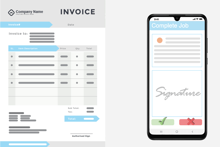 Electrical Software - Authorize and Invoice