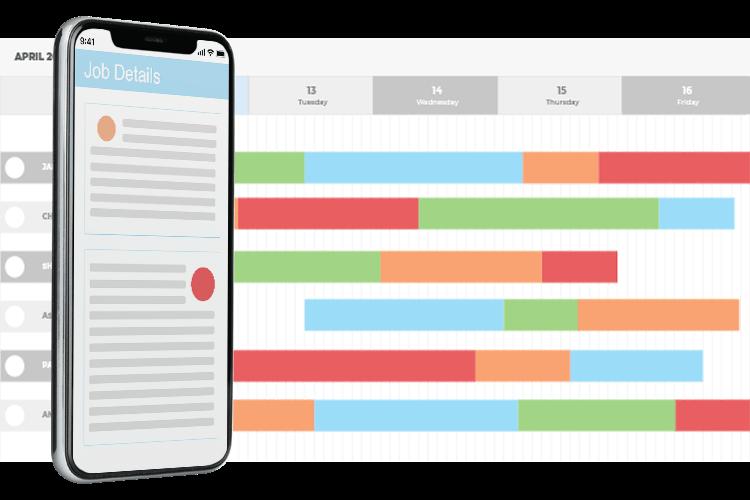 Employee Holiday App - Job Planning