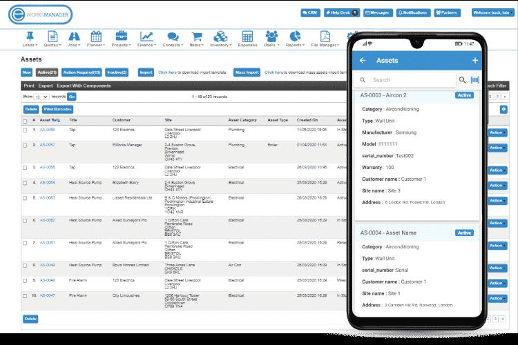 Pest Control Software - Asset Management Software