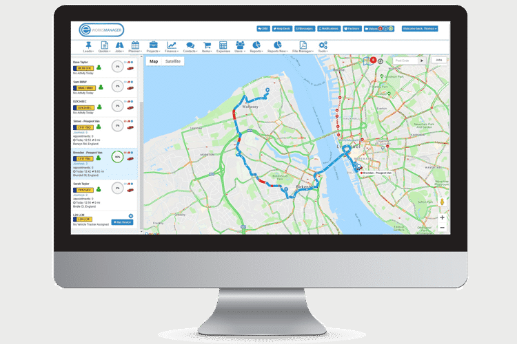 Vehicle Tracking that assists you with job planning