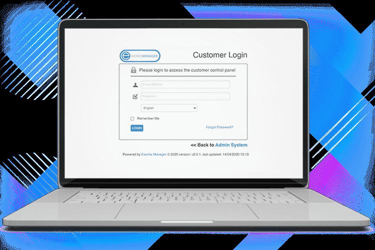 CRM System - Customer Login Portal