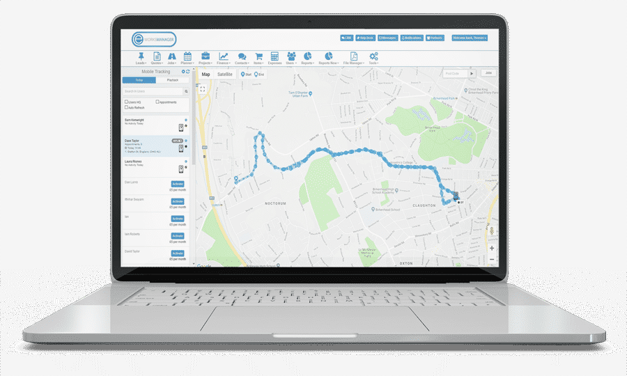 Live Tracking and Mobile Tracking System