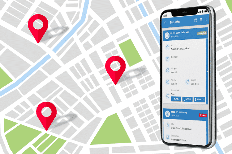 Job Management Software - Track Your Mobile Workers' Jobs in Real-Time