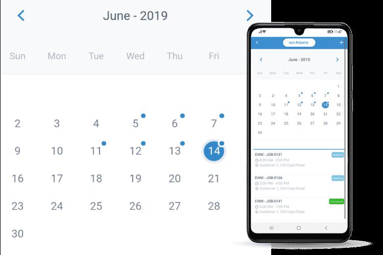 Sync Your Job Calendar