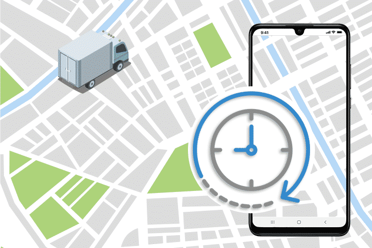 Reactive Planning with Live Locations