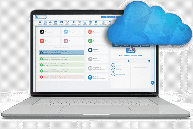 SRM Plugin - Cloud-Based Job Management Software