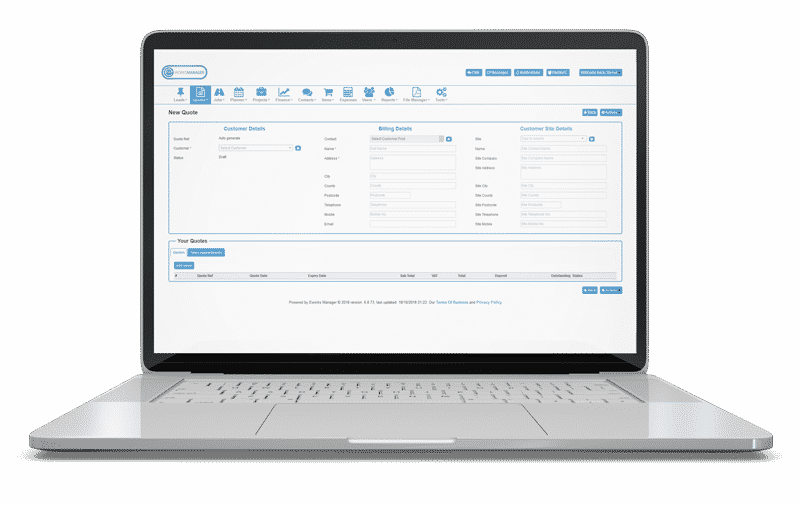 Online Quoting System - Professional Estimating Software for Businesses on the Move