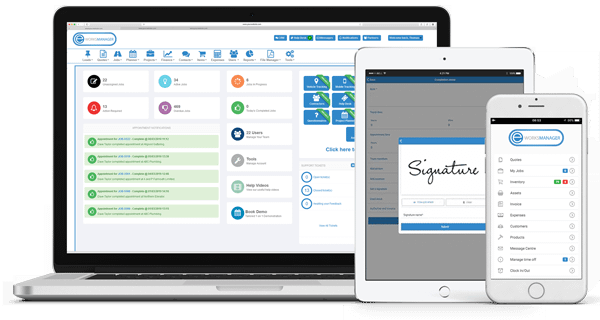 Field Service & Job Management Software - Get Started with Eworks Manager Today