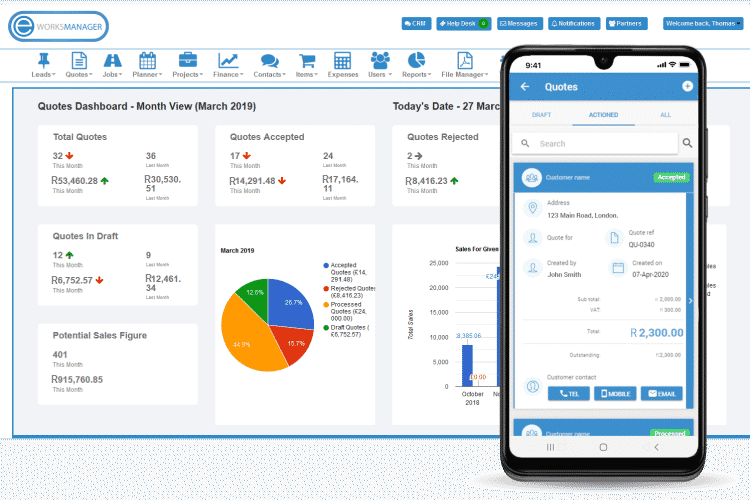 Quoting Software - Mobile App Quoting for Service Industry