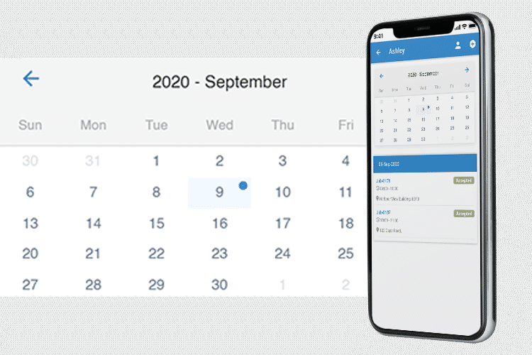 Workplace Scheduling App - Schedule jobs with ease