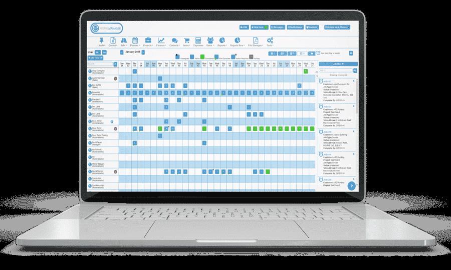 Staff Planning Software