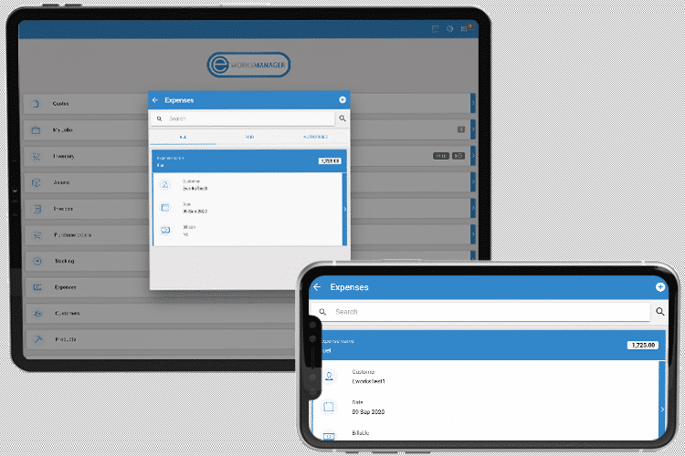 Expense Tracking Software - Mobile App