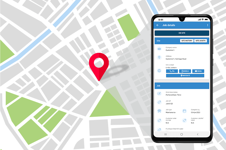 Staff Tracking Software - Fully Integrated System with Live Location