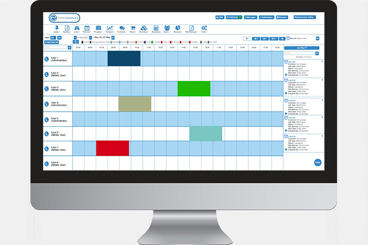 Route Scheduling Software - Job Planning and Scheduling