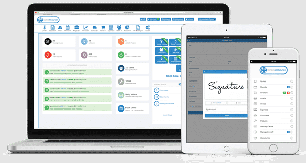 Eworks Manager's Job Card Management Software - Manage, plan and monitor all from one place.